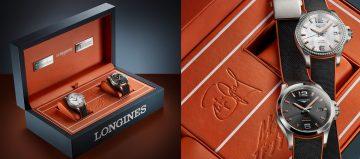 與網壇傳奇夫婦合作十周年:Longines推出Conquest系列V.H.P.限量錶款