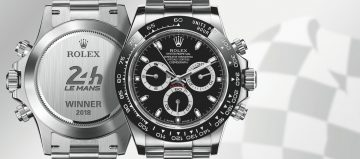利曼24小時耐力賽新科冠軍出爐 Rolex特別版腕錶當紀念