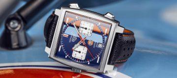 半世紀的榮耀:TAG Heuer推出Gulf特別版腕錶