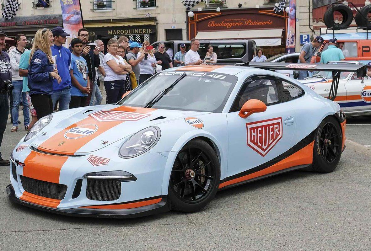 TAG Heuer慶祝合作夥伴Gulf於利曼24小時耐力賽首次摘下冠軍屆滿50年