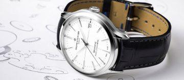 滿足父親的芯:Baume & Mercier名士克里頓Baumatic™腕錶
