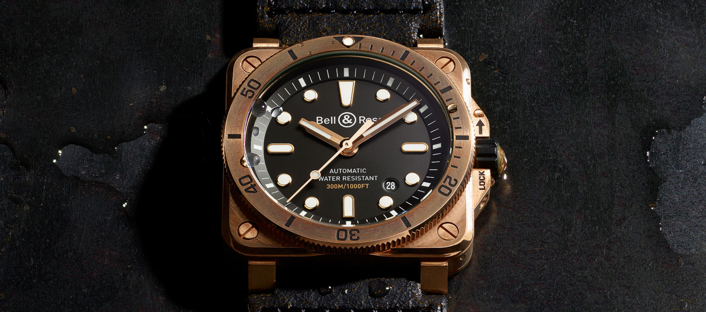 帶青銅去玩水:Bell & Ross BR03-92 Diver Bronze腕錶
