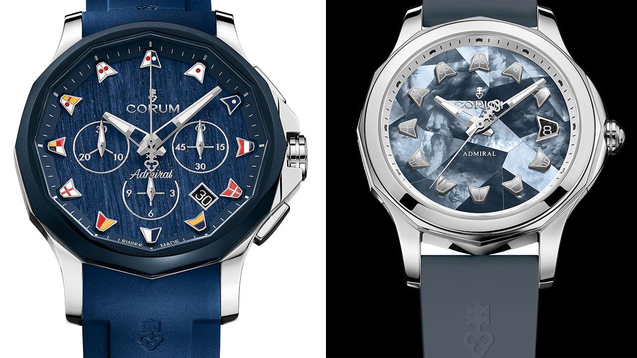 上將有了新造型:Corum Admiral Legend系列腕錶