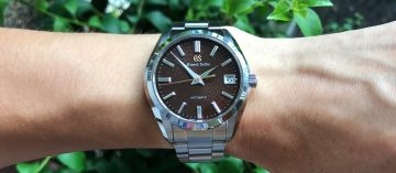 品味Grand Seiko的5種角度:9S機械錶20週年紀念限量款