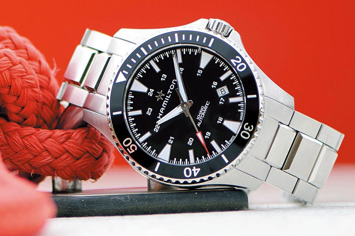 強悍蛙人風:Hamilton Scuba系列腕錶
