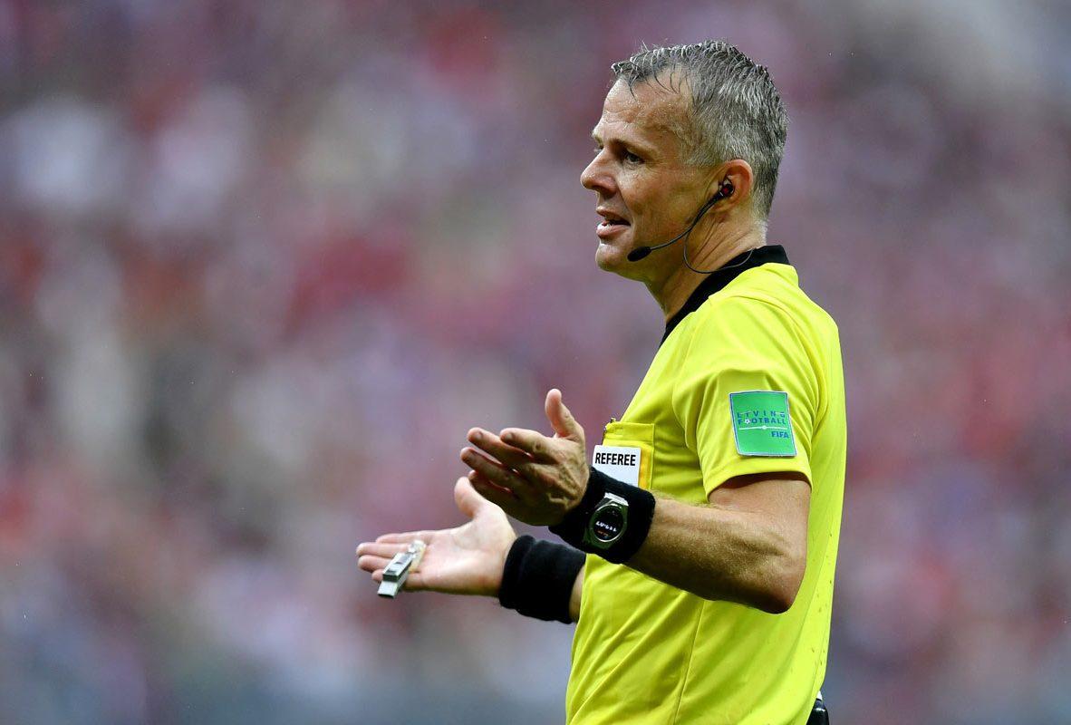 Björn Kuipers – FIFA 世足賽裁判 配戴Big Bang 2018世足賽官方腕錶
