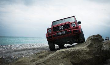 """Mercedes-Benz全新G-Class正式發表,琥珀時空梗登台演繹""""Stronger Than Time"""""""