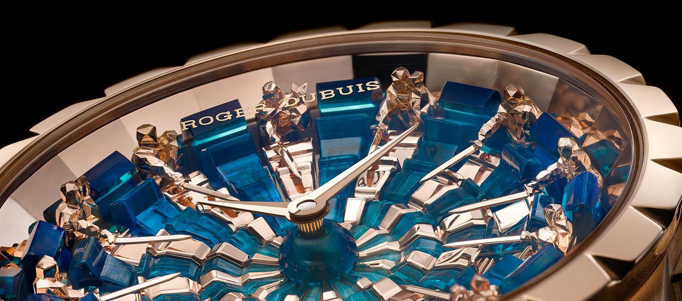 再現騎士風範:Roger Dubuis Excalibur圓桌騎士腕錶