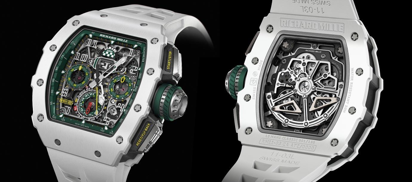 地表最大經典賽車官方時計:RICHARD MILLE 推出特別版腕錶