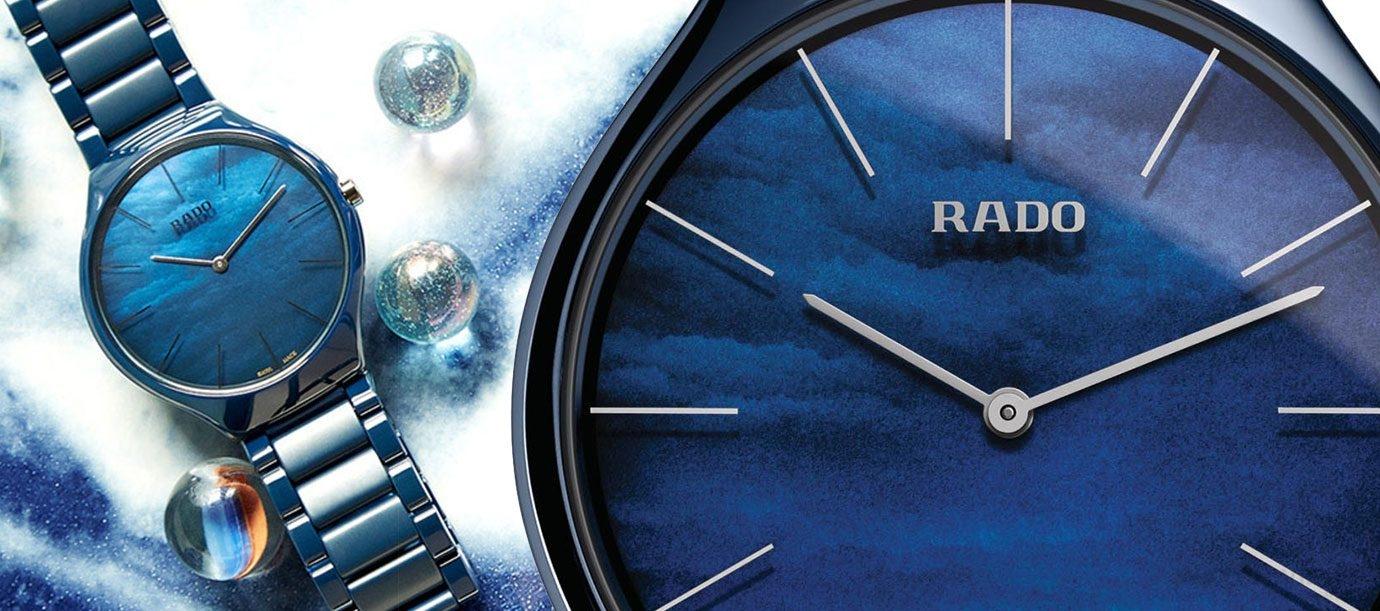 腕上的海洋時尚:Rado藍面錶款大集合