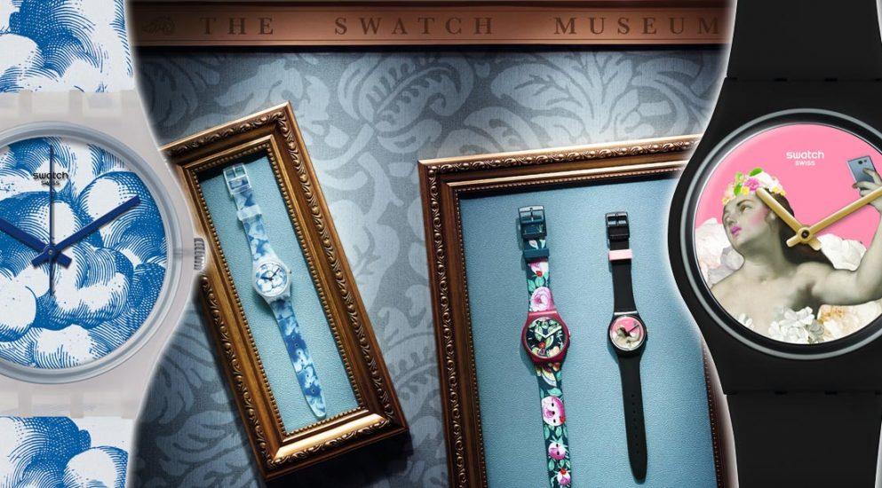 經典畫作躍上手腕:SWATCH聯手世界十大藝術殿堂
