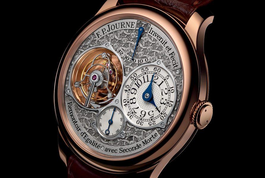 F. P. Journe 發表Tourbillon Souverain Régence陀飛輪腕錶