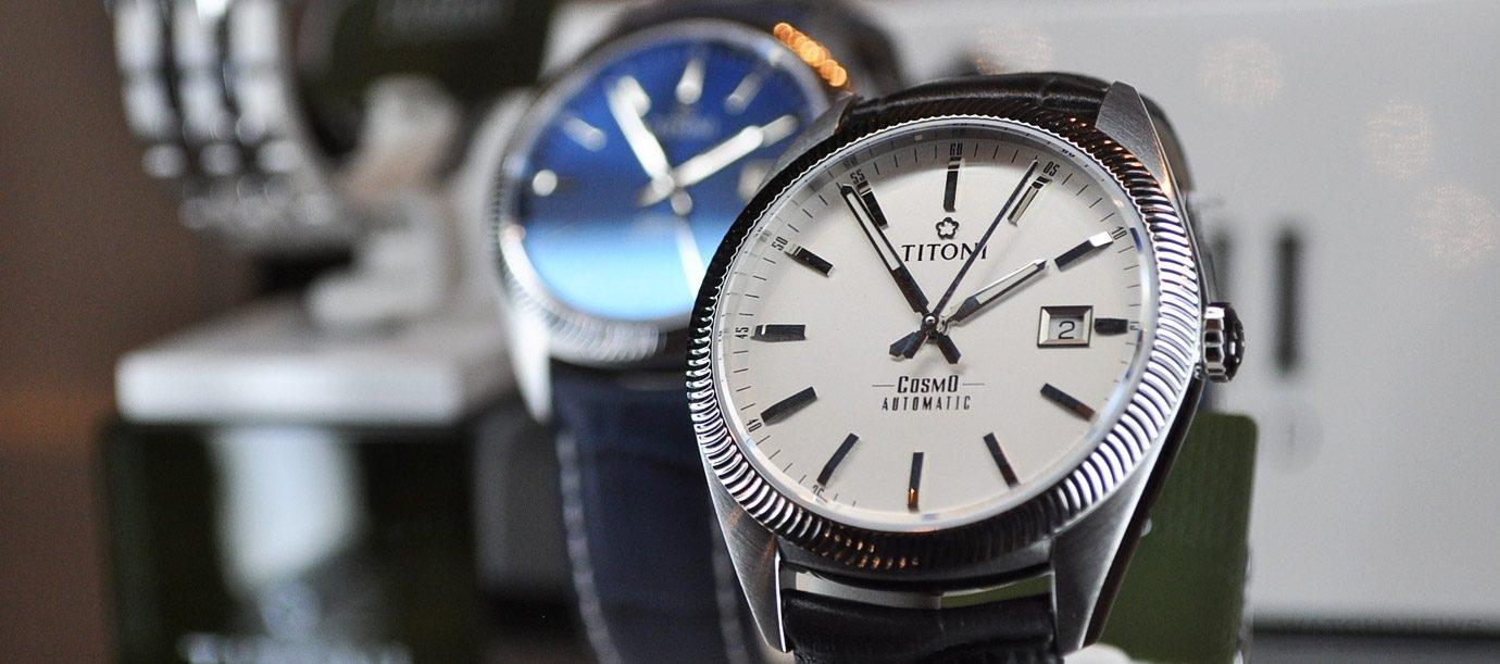 爸爸的錶變年輕了?! Titoni梅花錶宇宙系列