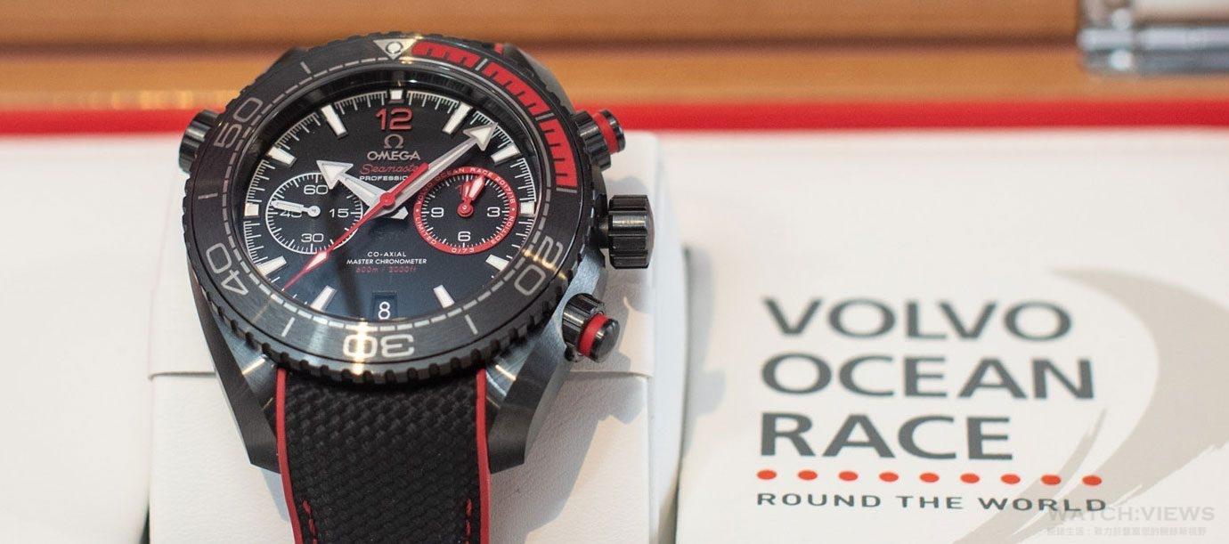 Volvo環球帆船賽冠軍出爐:東風隊獲得Omega Planet Ocean Deep Black限量錶