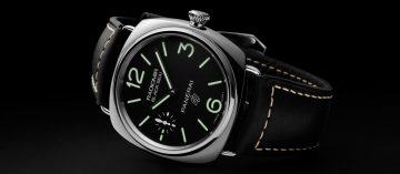 入門沛迷好選擇:全新Panerai Radiomir Logo系列腕錶