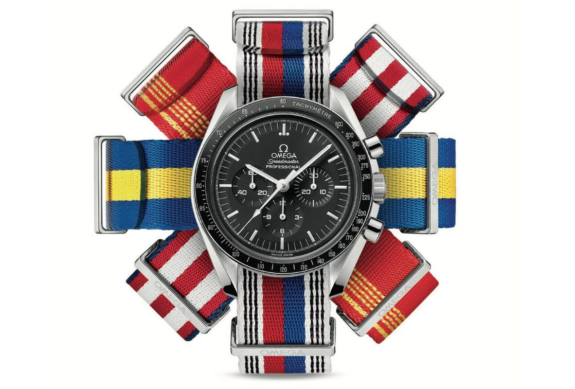 Omega五顏六色的NATO錶帶