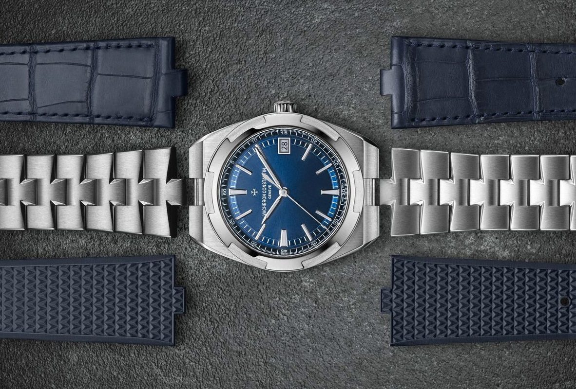 江詩丹頓Overseas採用快拆錶帶設計