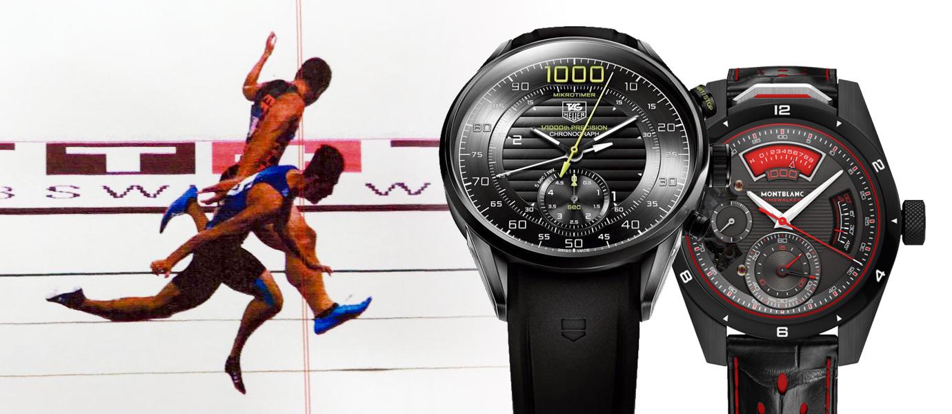 【錶語時事】從楊俊瀚千分之一秒「銀」恨看鐘錶界超精準計時碼錶