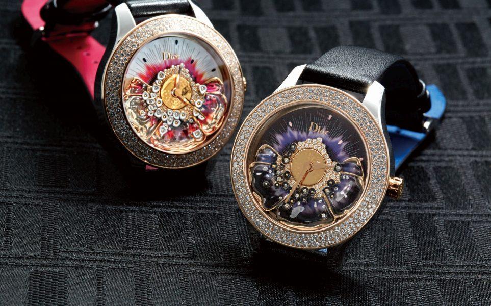 探索煙花燦爛的祕密花園:DIOR 2018年全新腕錶系列