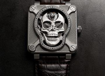 死亡笑對我們所有人:Bell & Ross BR 01 Skull骷顱系列腕錶