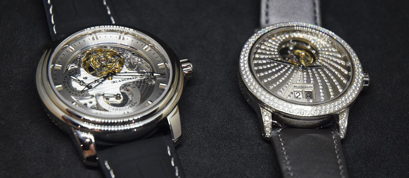 地心引力剋星:Blancpain陀飛輪與卡羅素複雜功能腕錶