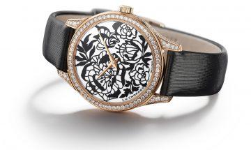 剪紙藝術工法 綻現牡丹花藝境巔峰:蕭邦L.U.C XP Esprit de Fleurier Peony腕錶