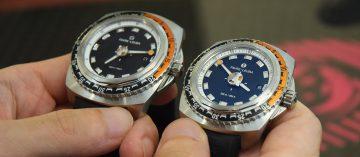 尺寸穠纖合度:Favre-Leuba Raider全新潛水錶登台(Video)