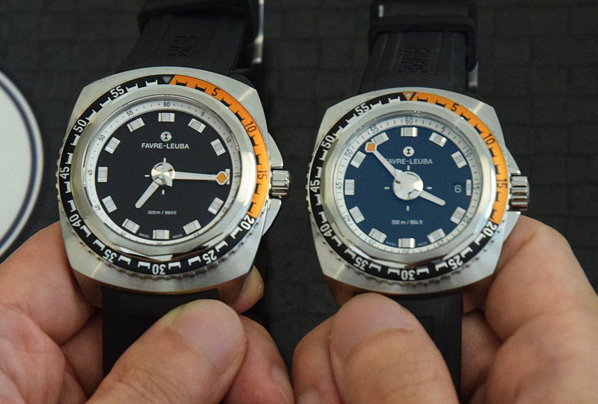 (圖左/右)Raider Deep Blue 44毫米與41毫米。41豪米參考價NTD 69,000(膠帶款及皮帶款)、NTD 84,000(鍊帶款)。