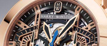 神迷的立體格局:Harry Winston Ocean系列腕錶
