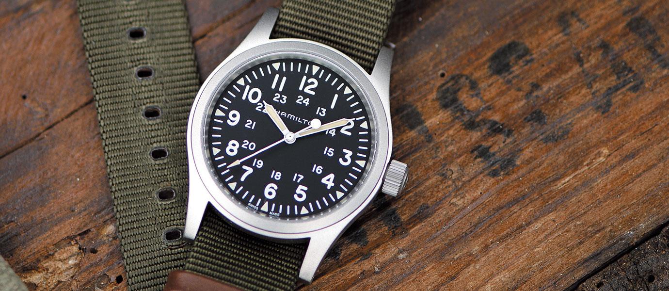 美式軍事風:Hamilton Khaki Field系列腕錶