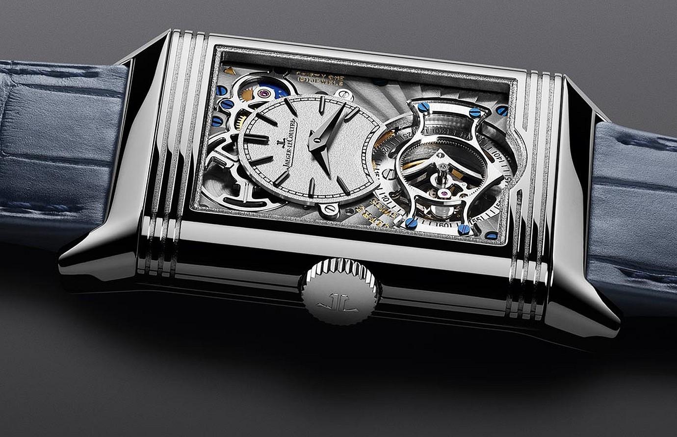積家發表全新Reverso Tribute Tourbillon Duo雙時區陀飛輪翻轉系列腕錶