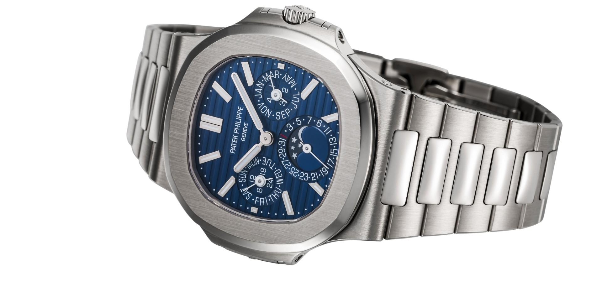 為萬代時計開先鋒:百達翡麗金鷹系列Nautilus Ref. 5740/1G-001萬年曆腕錶