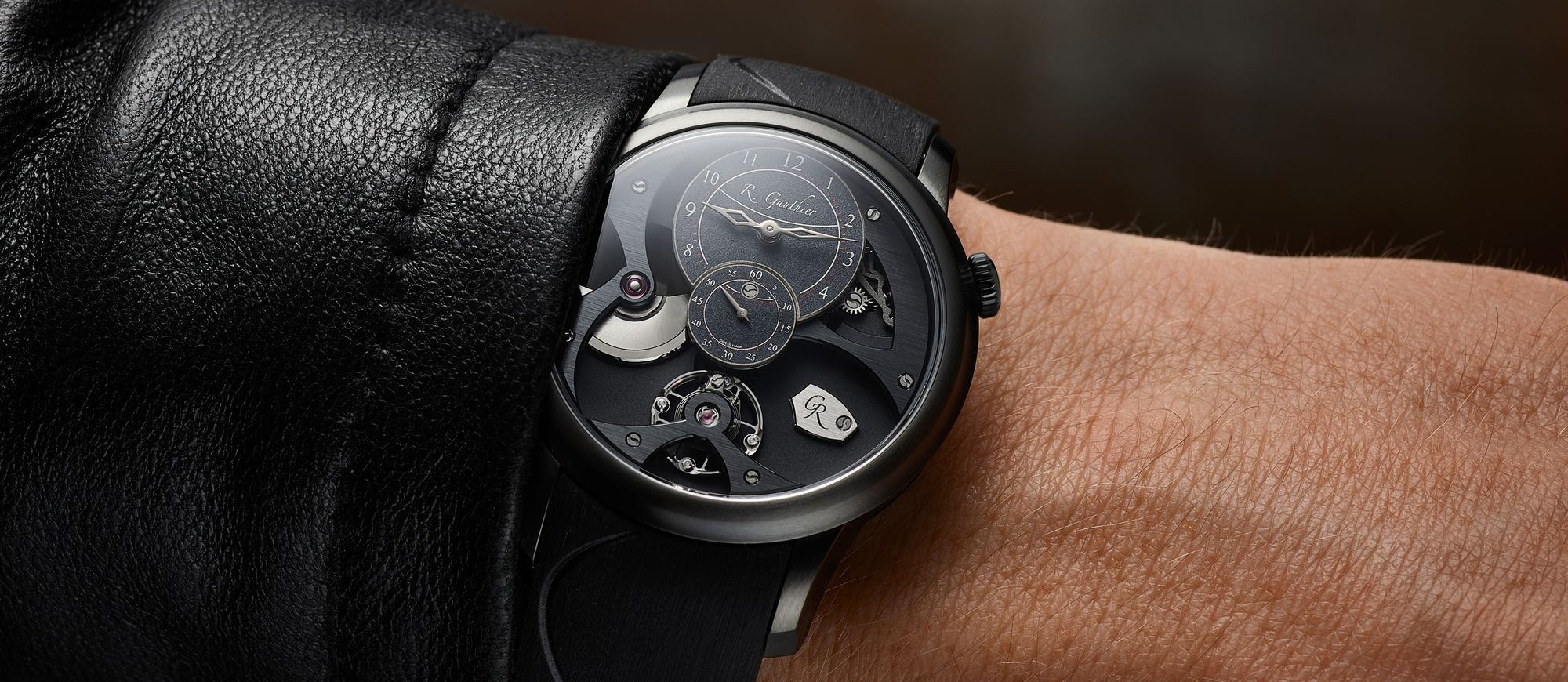 【每週一錶】Romain Gauthier Insight Micro-Rotor Black Titanium:最精緻的運動風味