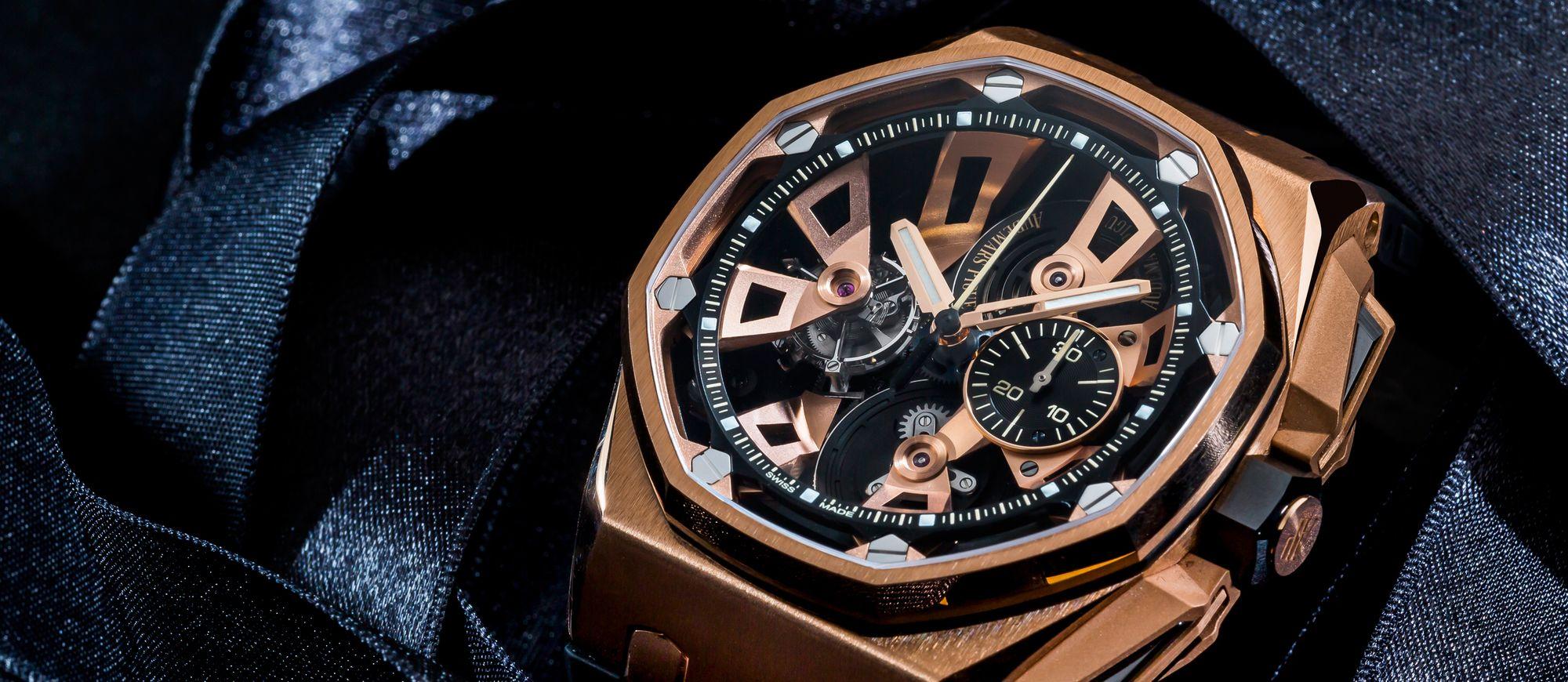 【每週一錶】AP ROO陀飛輪計時碼錶:推翻過去的自己