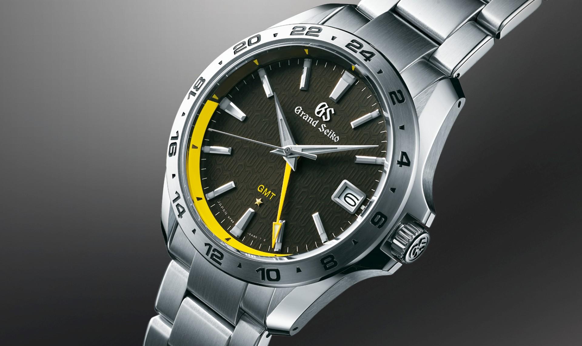 GRAND SEIKO發表旗下第一款9F石英機芯GMT兩地時間腕錶系列