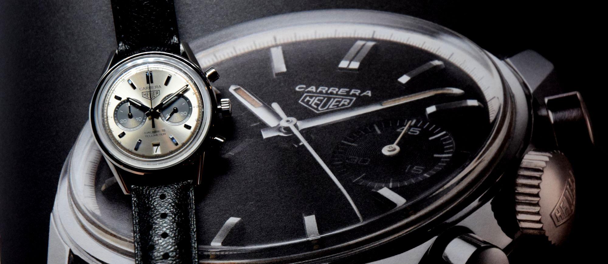 【每週一錶】TAG Heuer Carrera Calibre 18:還是老錶有味道