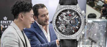 攜手陳奕迅:Zenith Defy系列El Primero 21鑲鑽腕錶正式亮相