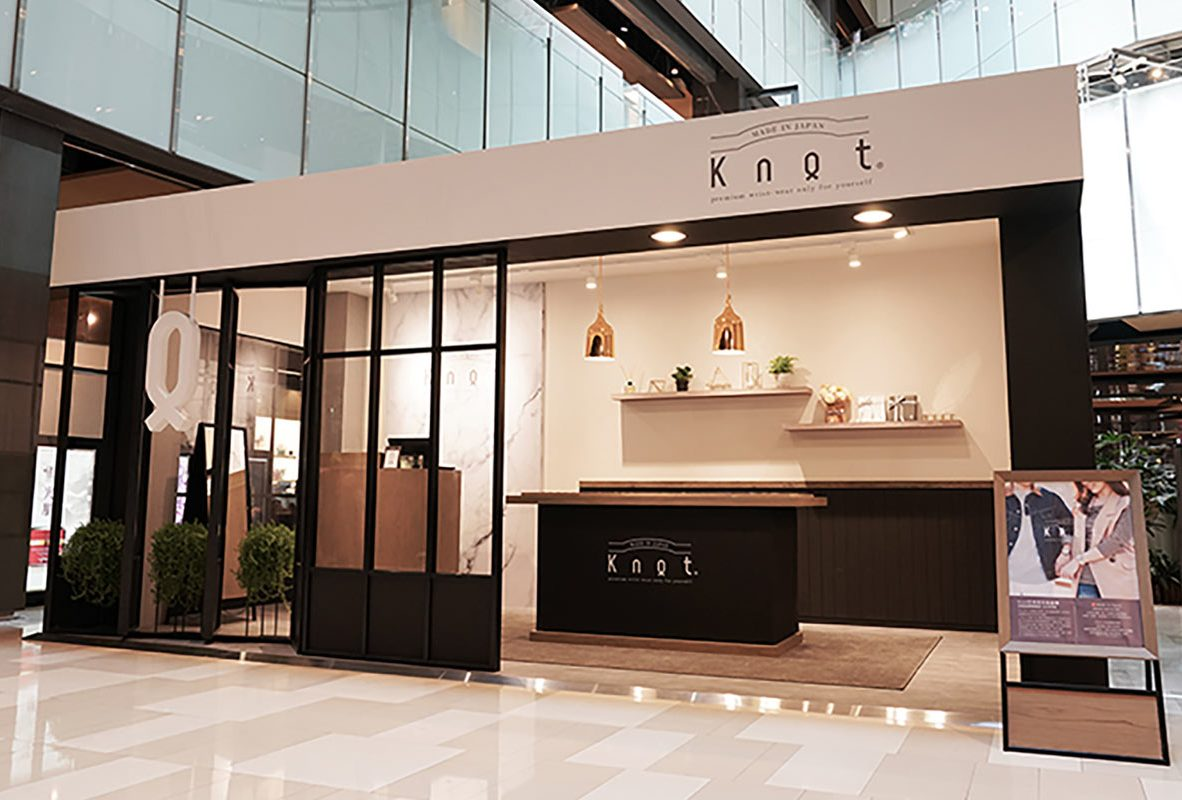 Knot京站快閃店於8月6日至9月2日進駐京站時尚廣場,打造日式時尚饗宴。