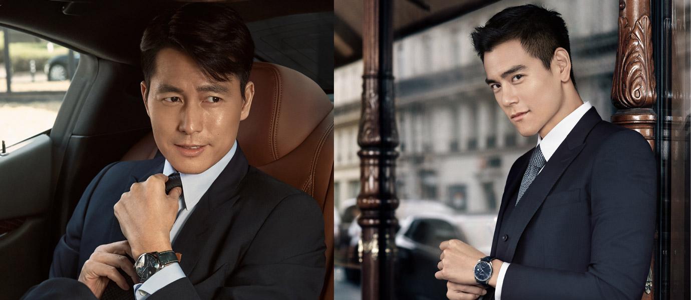 亞洲不同世代兩大男神演繹:Longines巨擘系列午夜藍腕錶
