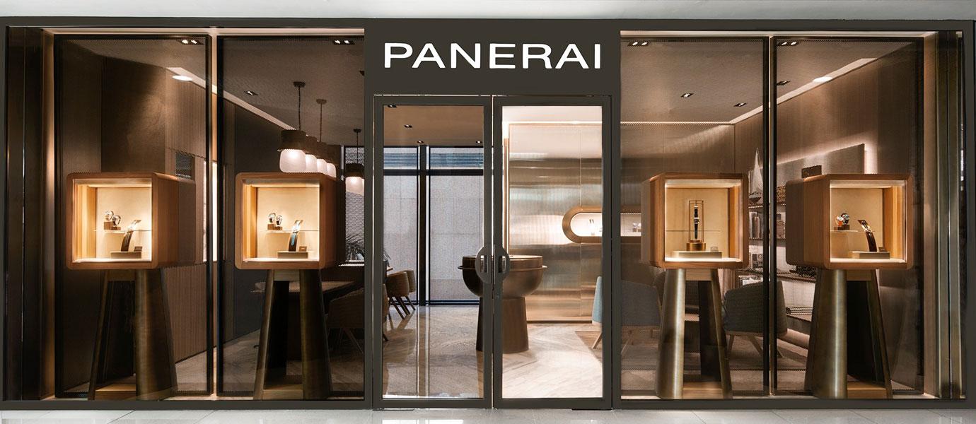 名設計師操刀:Panerai香港ifc專門店重新揭幕