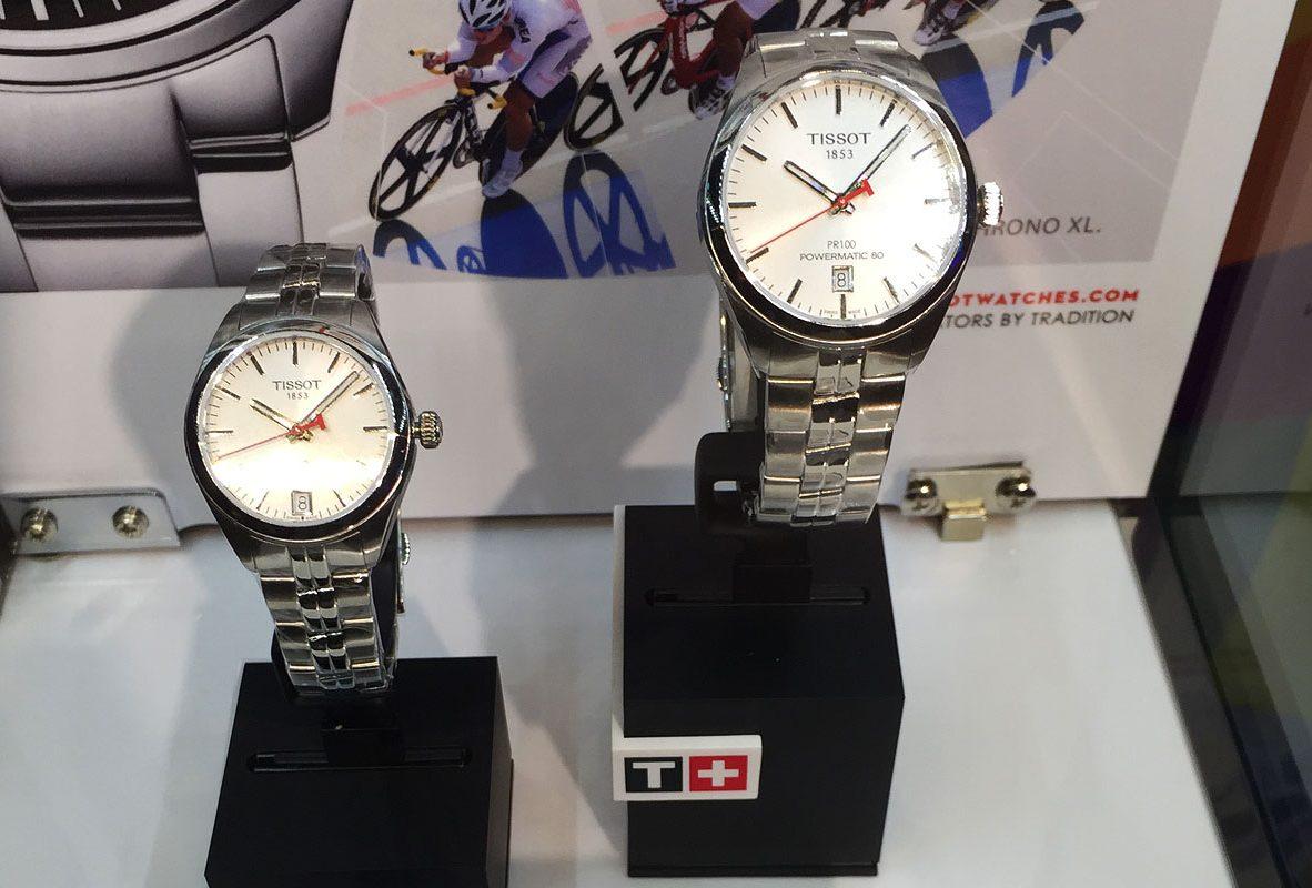 PR100亞運紀念款自動腕錶。