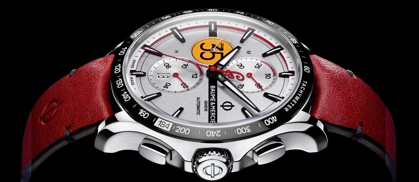 遇上地表最速摩托車:Baume & Mercier名士Clifton Club Indian®限量腕錶