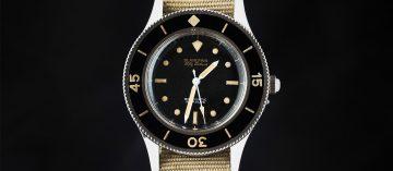 史上第一款五十噚潛水錶現身:寶珀傳奇五十噚空運來台