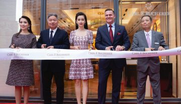 寶齊萊香港專門店隆重開幕,品牌高層與寶齊萊全球形象代言人李冰冰 見證輝煌時刻