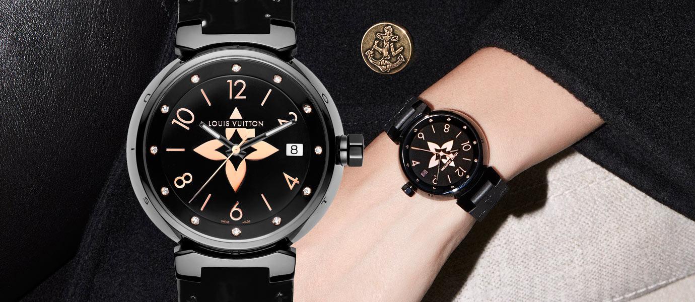 經典符碼為靈感:Louis Vuitton Tambour全新款式腕錶