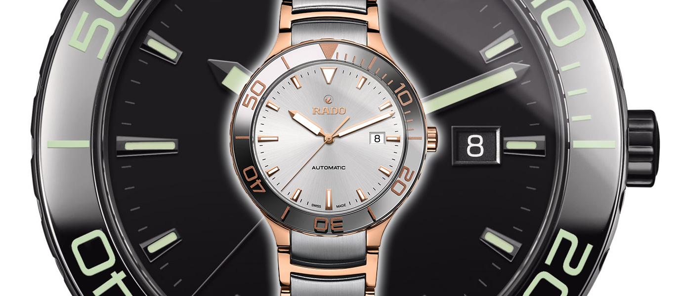 運動時尚風:Rado晶萃系列運動機械錶