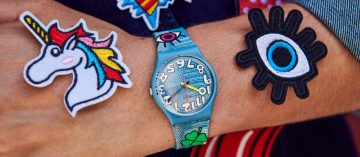 色彩調色盤:Swatch Think Fun系列腕錶