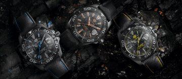 以碳纖維打造:TAG Heuer特別版限量腕錶(Video)