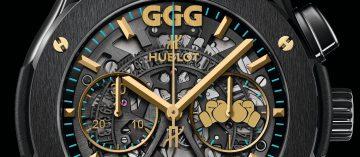 拳王好夥伴:Hublot Classic Fusion 45mm Chronograph GGG特別版