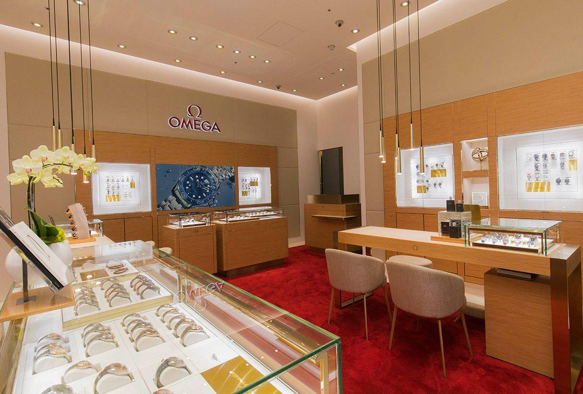 Omega台中大遠百名品店